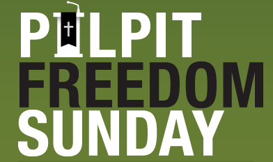 Pulpit Freedom Sunday side banner