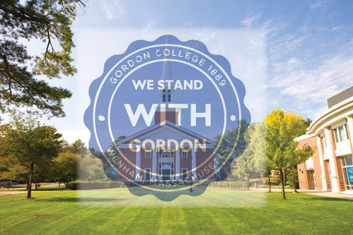 we stand with gordon banner