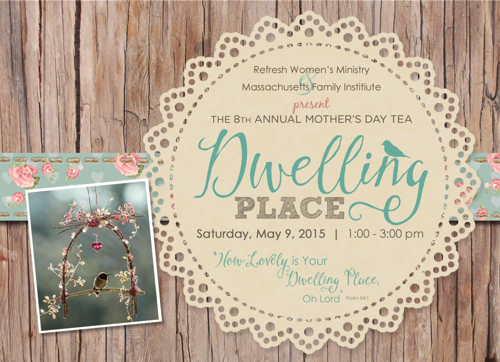 2015 Mothers Tea Invite front