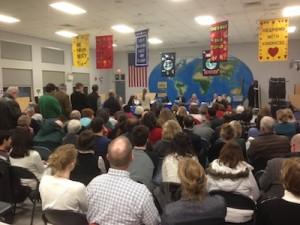 Gordon school board meeting
