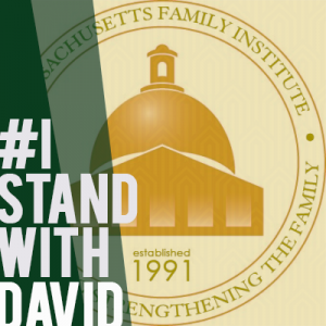 i stand with David